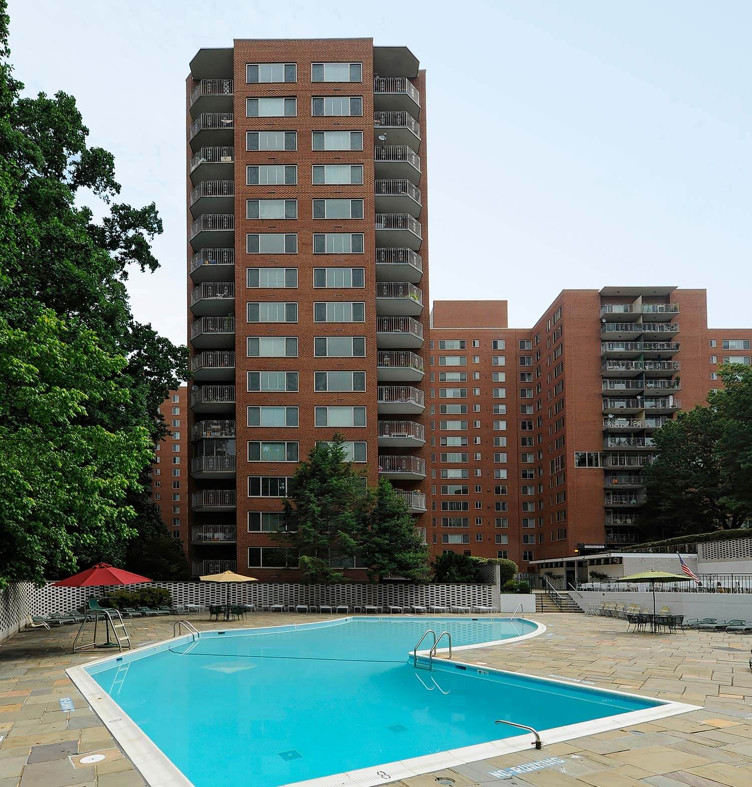 4000 Mass Ave Apartments pool